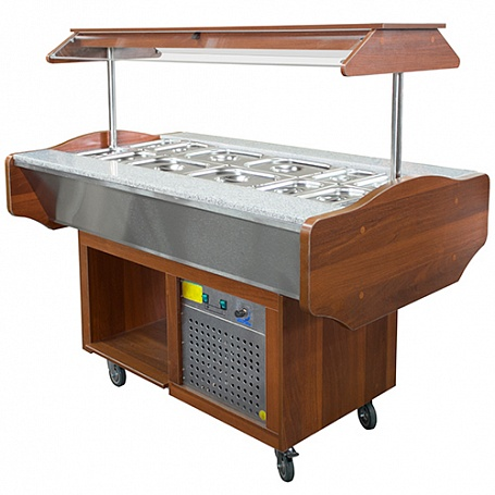 "Service-counter ""Self-service buffet"""